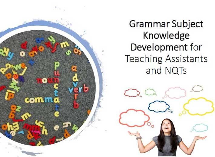 Grammar Subject Knowledge Developemt - Chris Ogden Education